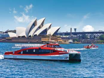 Sydney: Hop-On/Hop-Off-Hafenrundfahrt Ticket