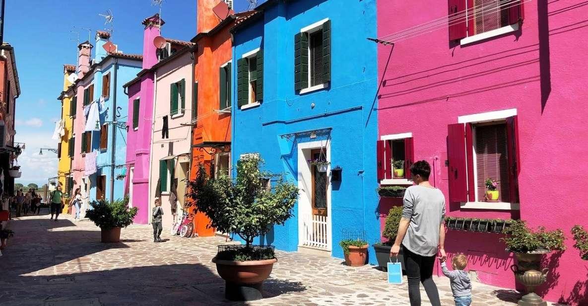 Ab Jesolo: Tagestour nach Murano, Burano und Torcello