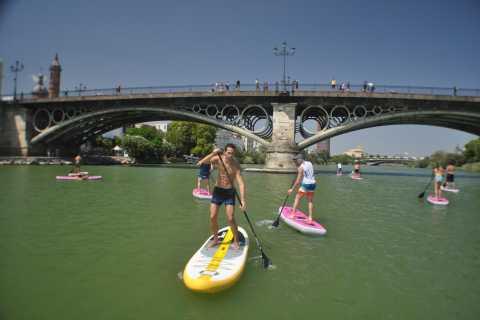 Sevilla: Guadalquivir River Stand Up Paddleboarding Tour