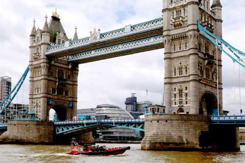 Londres: Aluguel de lancha particular pelo coração da cidade