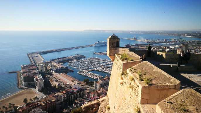 Alicante: Excursión privada a la costa con transporte.