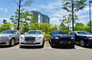 Singapur: Privater Flughafentransfer (einfache Fahrt) mit Rolls Royce
