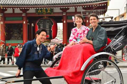 Tokyo Asakusa Insider: Rickshaw and Walking Tour