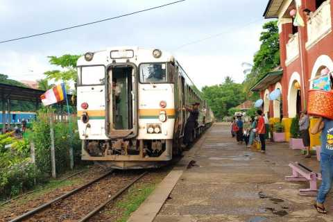 Yangon Full Day Tour with Circular Train Ride
