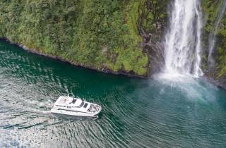 Ab Queenstown: Tour Milford Sound & Bootsfahrt