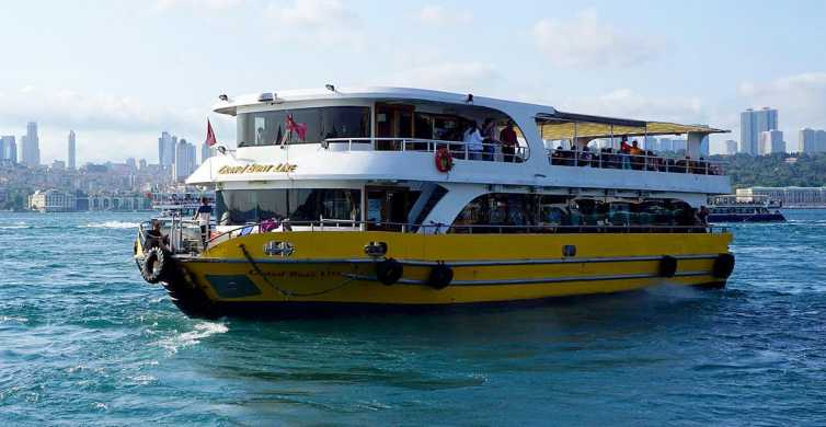 Istanbul: Golden Horn and Bosphorus Tour with Audio App