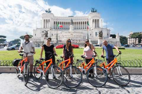 Rome Private 3-Hour Bike Tour