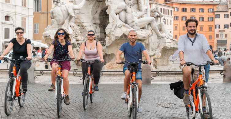 Descubre Roma: tour en bici de 3 horas