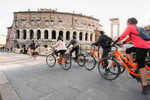Rome: Private Full-Day Panoramic Bike Tour