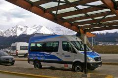Ushuaia: Traslado de Ida e Volta/Sentido Único Aeroporto USH