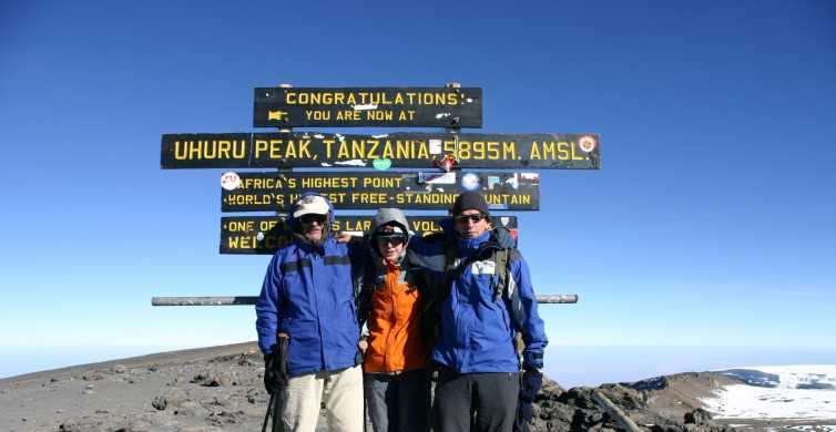 Kilimanjaro Climb - Rongai 6 Days 5 Nights