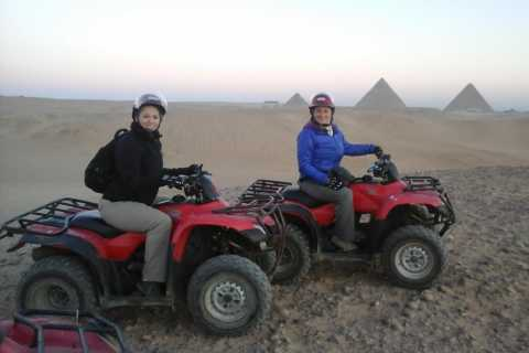 Pyramids of Giza: 1-Hour Quad Bike Desert Safari