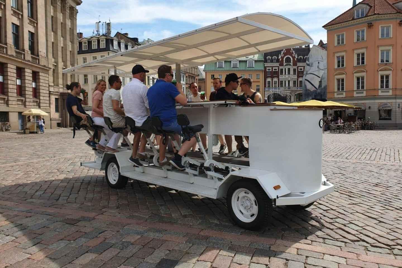 Riga: Bier- oder Apfelwein-Radtour