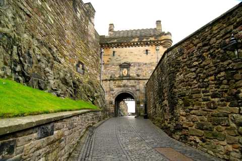 Château d'Édimbourg: visite guidée en italien