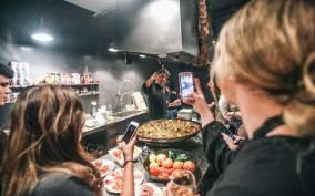 Barcelona: Paella Cooking Experience + Boqueria Market Tour