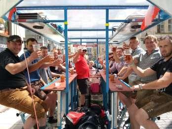 Pilsen: Bier-Bike-Tour mit unbegrenztem Bier