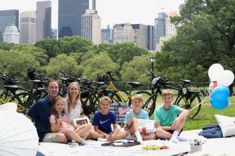 New York City: All Day Bike Rental and Central Park Picnic