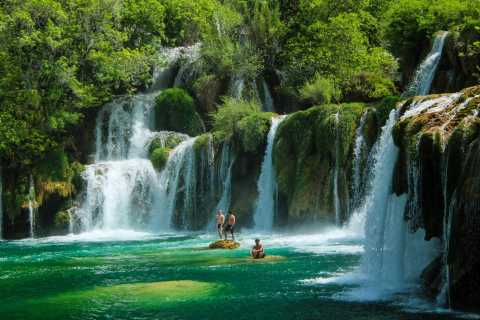 Krka Waterfalls Tour from Split with 30-Min River Cruise