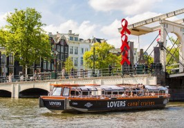 Qué hacer en Ámsterdam - Ámsterdam: paseo en barco semidescubierto por los canales