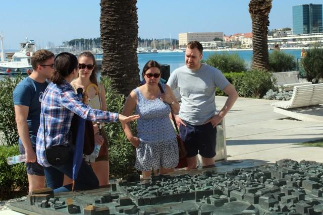 Split: wandeltocht paleis van Diocletianus van 1,5 uur