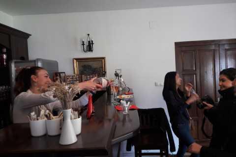 From Brasov: Wine Tasting, Peles Castle and Monastery Visit