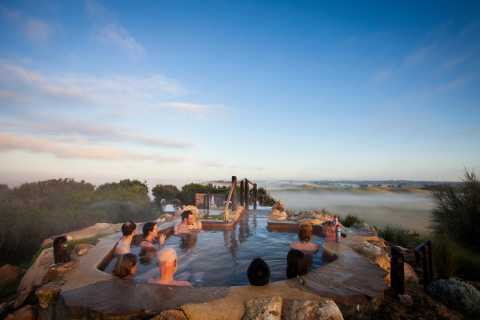 Mornington Peninsula: Hot Springs and Bathing Boxes