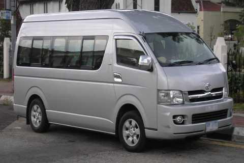 Shared Minivan Service Between Luang Prabang & Vientiane