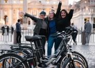 Rom: E-Bike-Tour bei Nacht mit Pizza