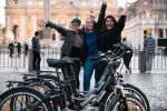 Rome Electric Bike Night Tour with Pizza