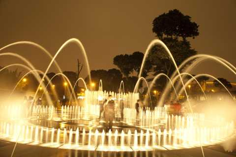 Lima: Larco Museum and Magic Water Tour