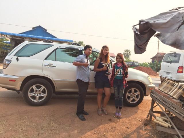 Private Taxi Transfer Siem Reap to Phnom Penh