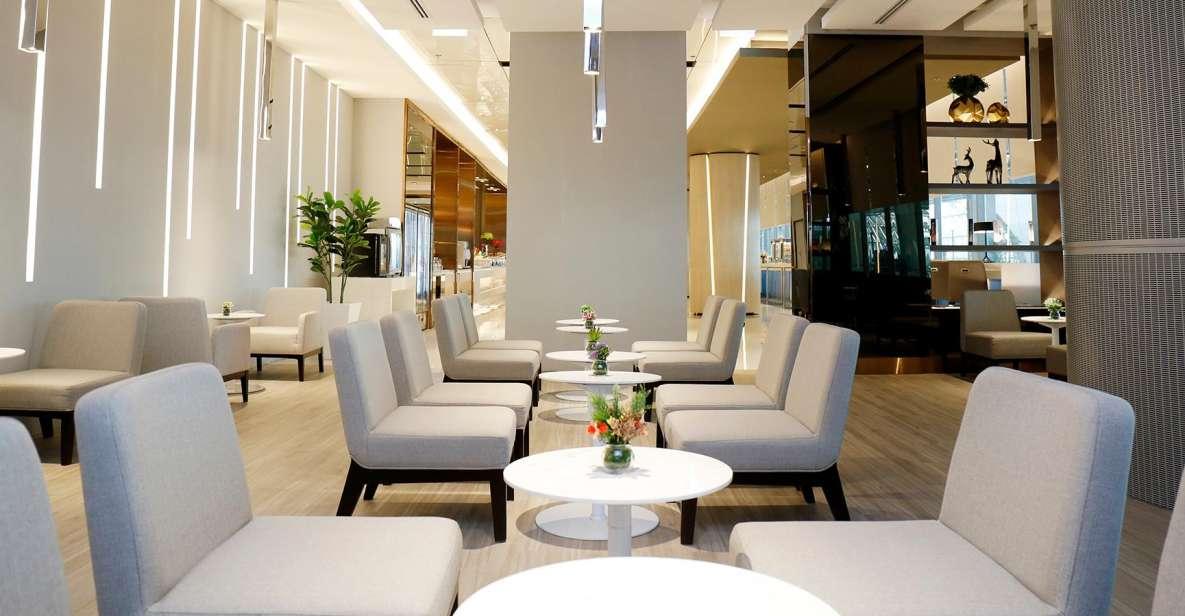Suvarnabhumi Airport: 2.5-Hour Miracle Lounge Access