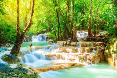 Erawan National Park and Kanchanaburi Small Group Tour