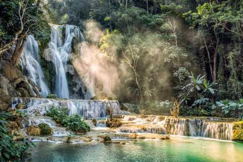 Luang Prabang: Kuang Si Falls & Hmong Village Trekking Tour