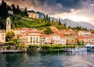 Ab Mailand: Ganztagesausflug zum Comer See und Bellagio