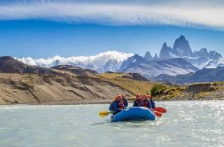 Von El Calafate: Ganztägiges Rafting-Abenteuer in El Chaltén