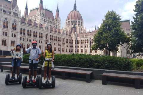 Budapest: Live-Guided Castle District Segway Tour