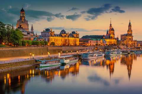 From Prague: Bastei and Dresden Small-Group Day Trip