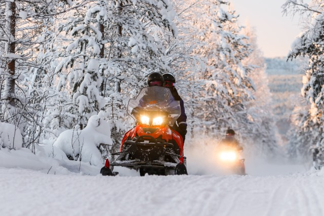 Rovaniemi: sneeuwscooteravontuur van 2 uur