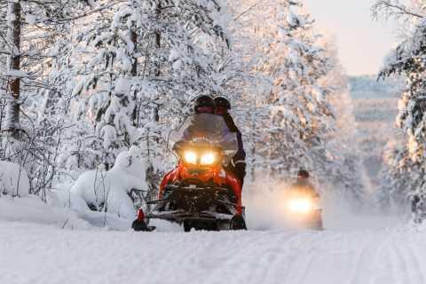 Rovaniemi: 2-Horas de Experiência Snowmobiling