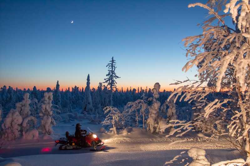 Rovaniemi: Snowmobile Safari & Campfire Evening Escape - Rovaniemi, Finland   GetYourGuide