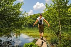 De Zadar: Excursão ao Parque Nacional dos Lagos de Plitvice