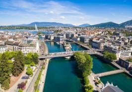 seværdigheder i Genève - Geneve: Sightseeingbustur med åben top