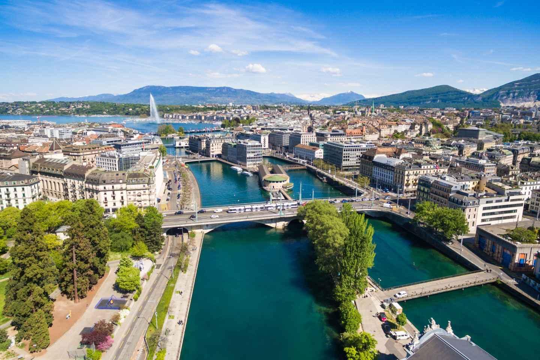 Genf: Sightseeingtour im Open-Top-Bus