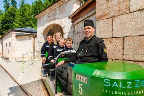 Salzbourg: mines de sel de Berchtesgaden et lac souterrain