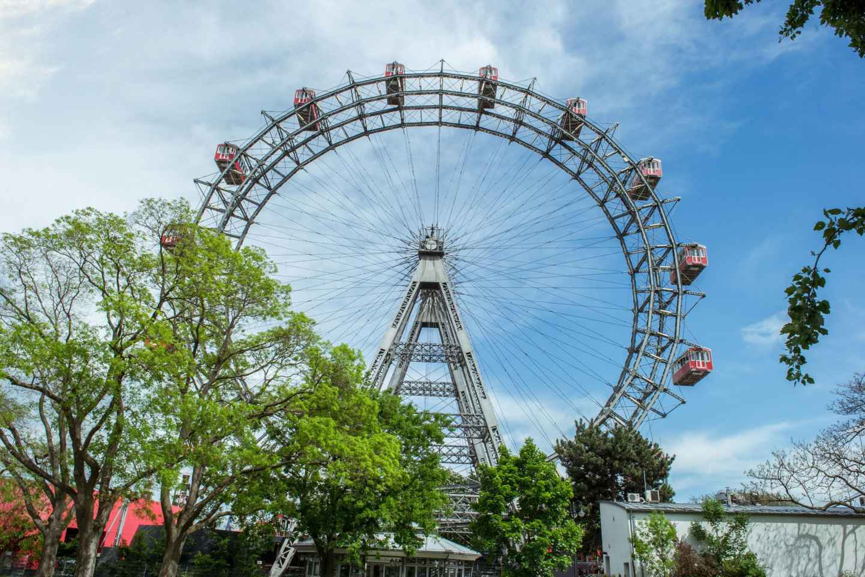 Wien: Fahrt mit dem Riesenrad ohne Anstehen