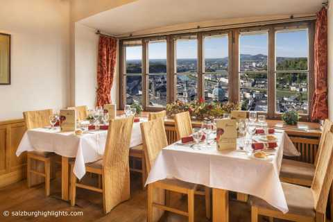 Salzburg: Best of Mozart Fortress Concert and Dinner