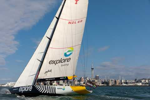 America's Cup 2-Hour Sailing Experience Waitemata Harbour