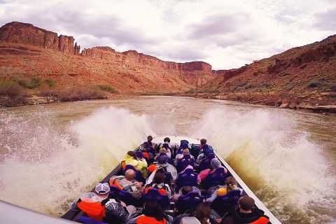 Moab: 1-Hour Colorado River Speed Boat Tour