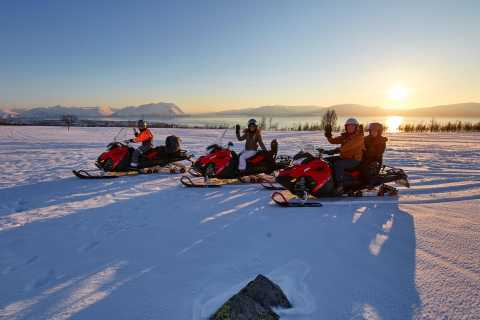 Tromso: Snowmobile Safari in the Beautiful Lyngen Alps